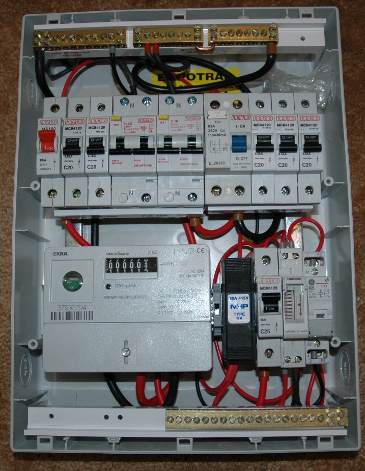 Residential Garage Electrical Wiring
